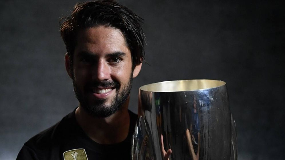 Foto: Isco fue el mejor jugador de la Supercopa. (UEFA)