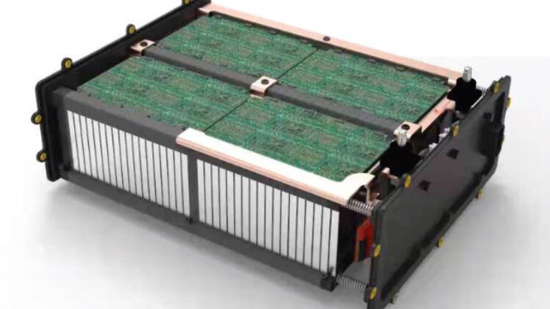 Esta batería de litio-carbono es completamente reciclable. (Mahle)
