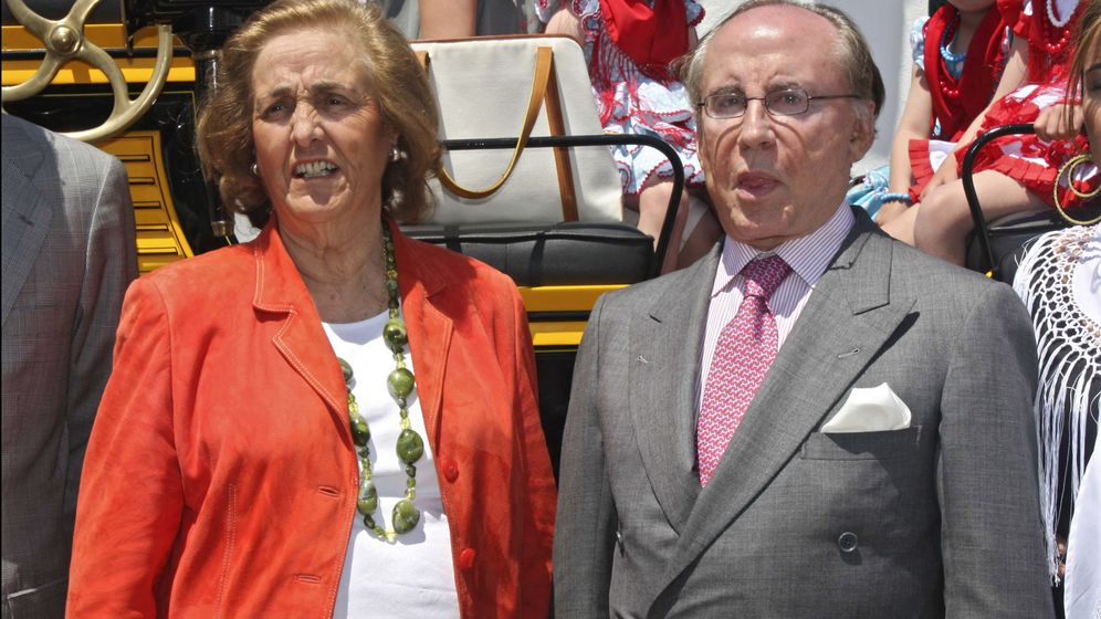 Foto: José María Ruiz-Mateos y su mujer, María Teresa Rivero, en una imagen de archivo (Gtres)