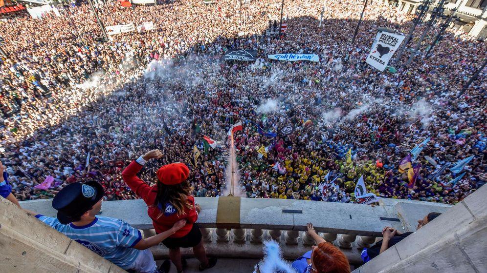 Foto: Bilbao celebra la Aste Nagustia de 2019 desde el 17 al 25 de agosto. (Efe)