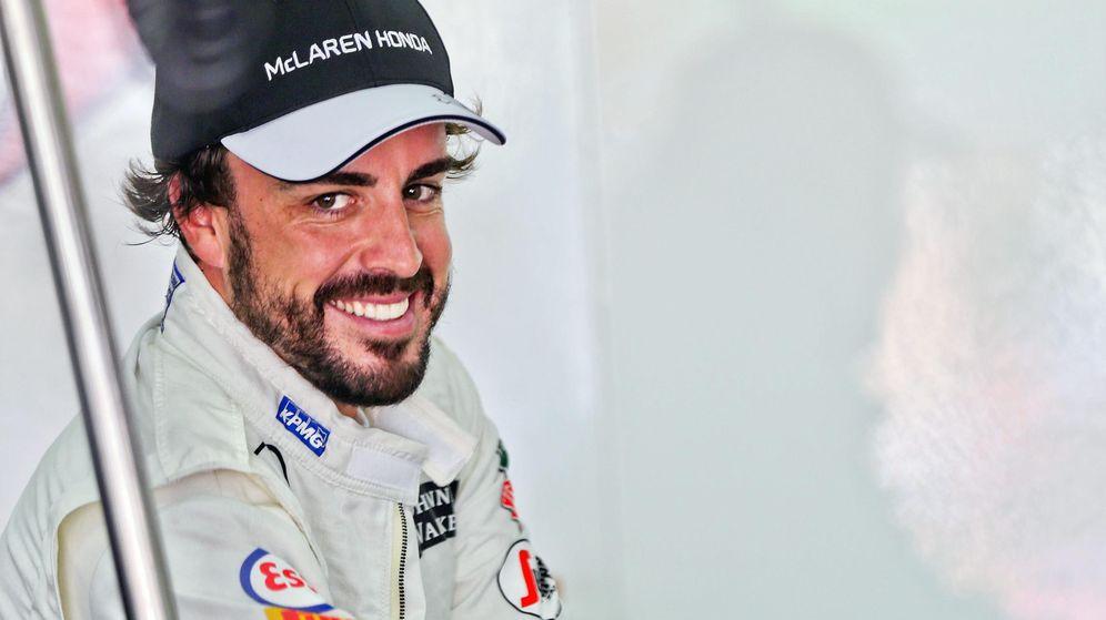 "Alonso tiene motivos para sonreír: ""Aquí podemos avanzar más de un segundo"""
