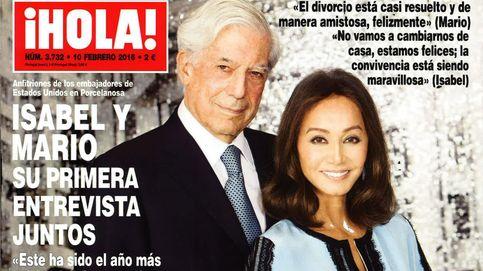 Kiosco Rosa: Isabel Preysler y Mario Vargas Llosa ofrecen su primera exclusiva