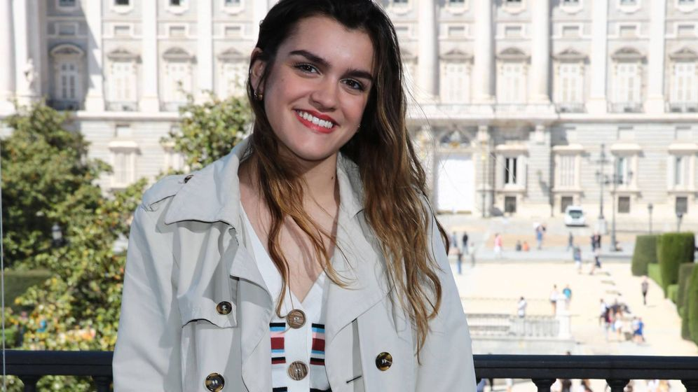 Foto:  Amaia, feliz. (Cordon Press)