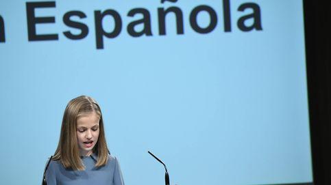 Segura y sin nervios: así ha sido el primer discurso de la princesa Leonor