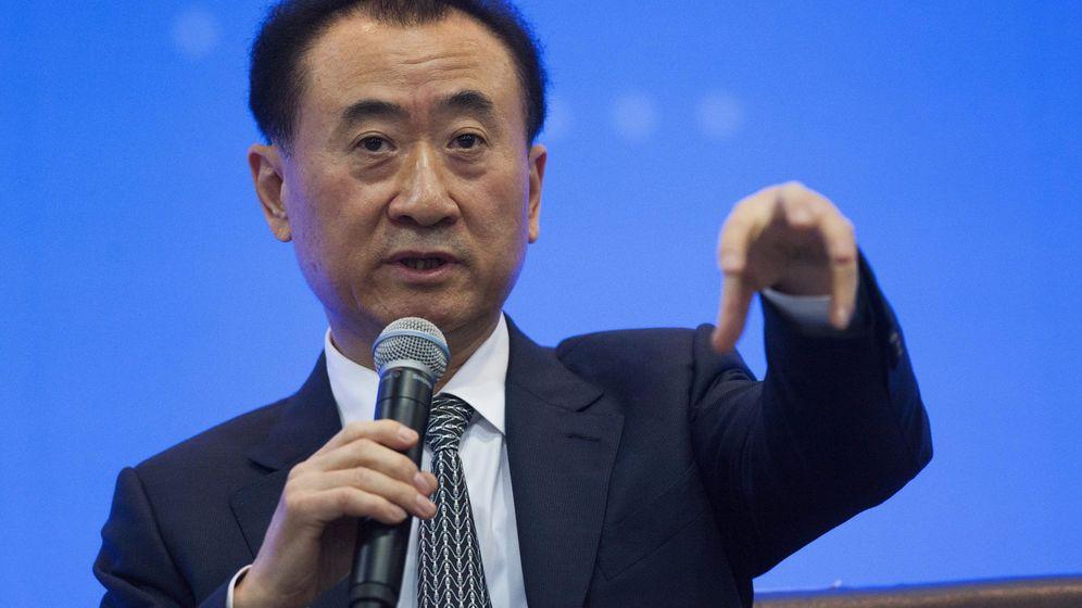 Foto: Wang Jianlin, presidente del Grupo Wanda (Efe)