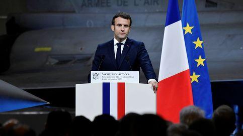 Evacuan a Macron de un teatro tras el intento de sabotaje de unos manifestantes