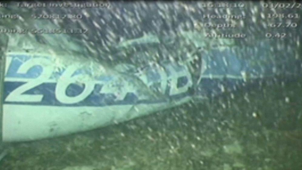 Foto: La avioneta de Emiliano Sala. (Reuters)