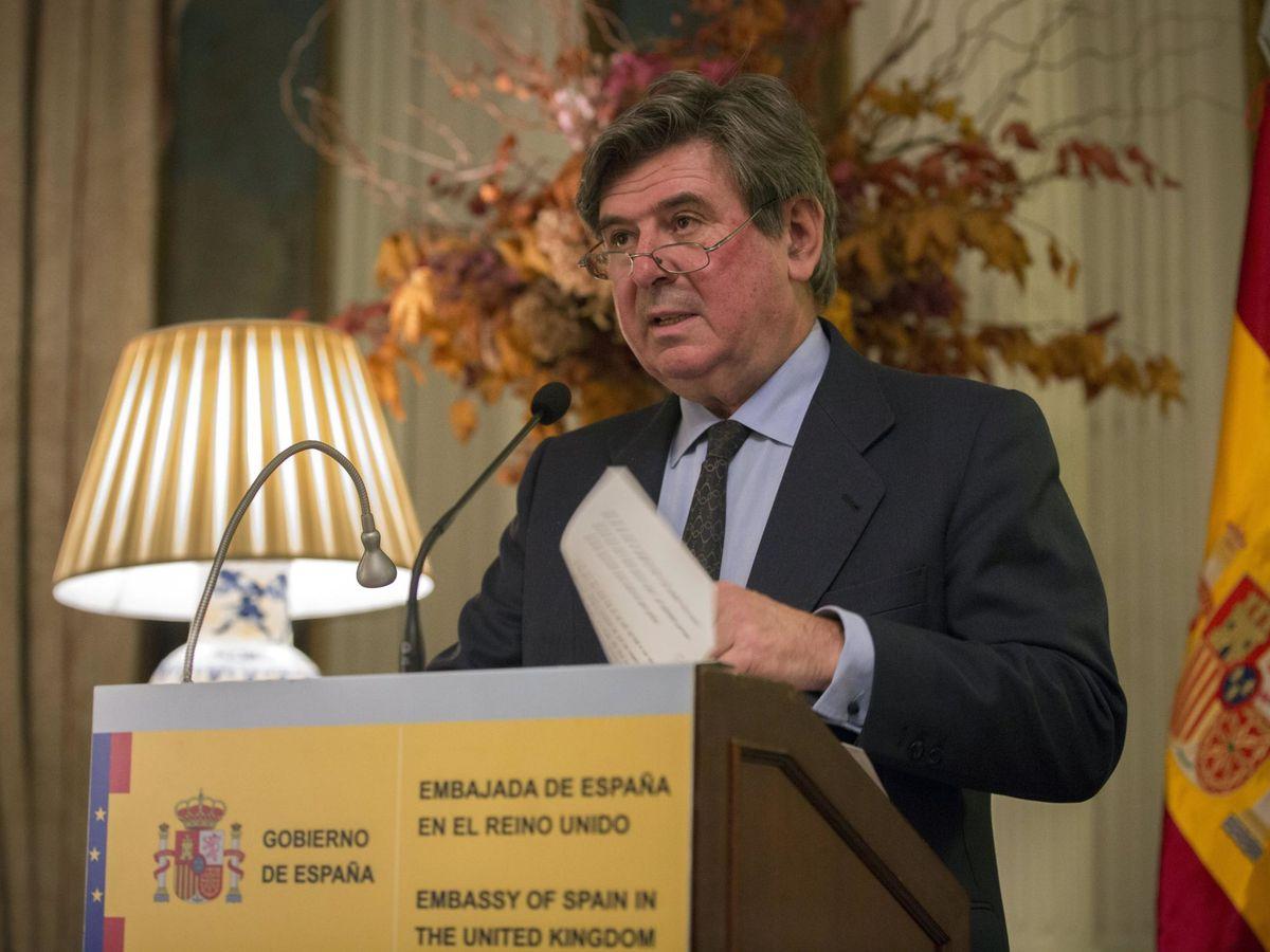 Foto: Carlos Bastarreche, embajador de España en Londres hasta este lunes. (EFE)