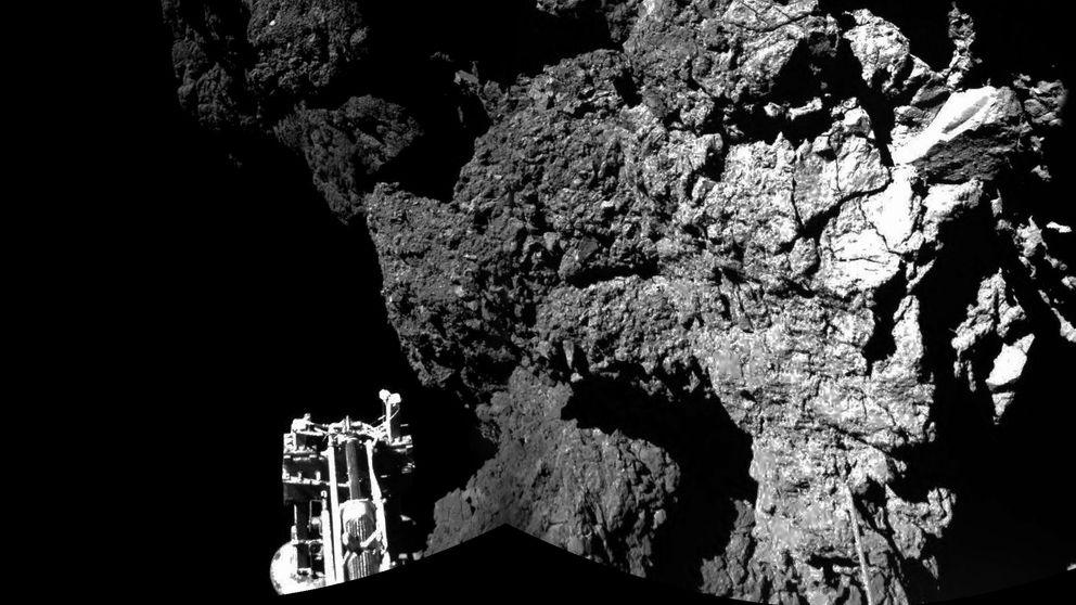 Philae ha encontrado moléculas orgánicas en el cometa 67P