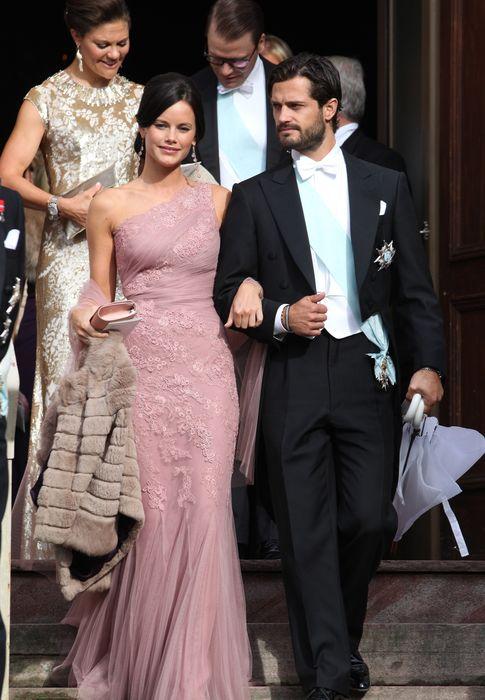Foto: El príncipe Carlos Felipe de Suecia y su novia, Sofía Hellqvist, en una imagen de archivo (Gtres)