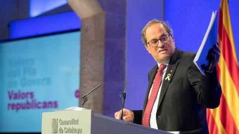 Torra presenta un plan de gobierno que necesita un pacto constante con Madrid