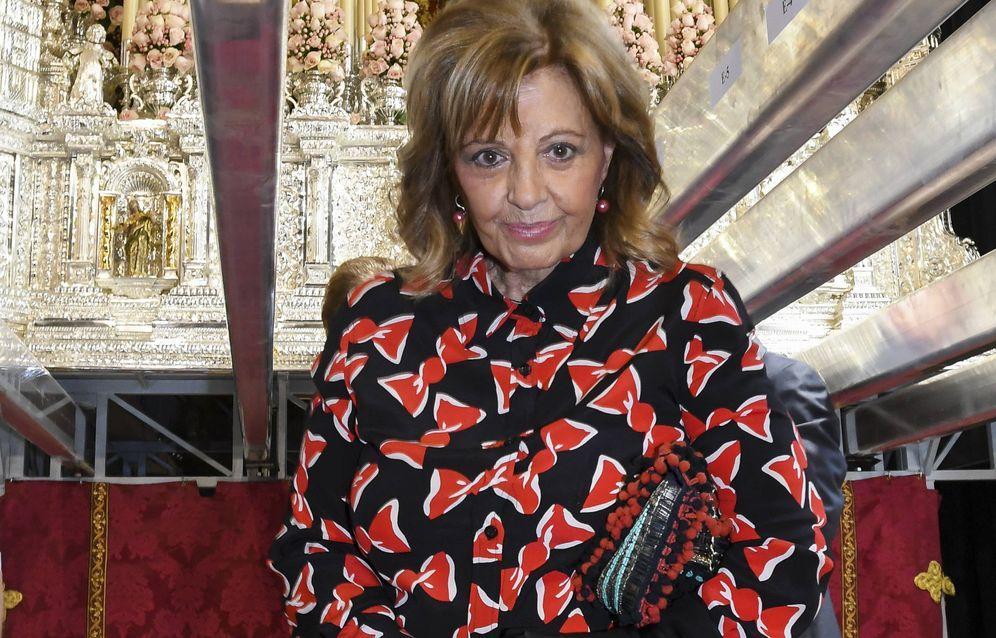 Foto: María Teresa Campos en una imagen de archivo. (Gtres)