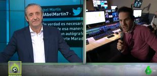 Post de 'Jugones': Josep Pedrerol se despide de Quim Domènech con un emotivo mensaje