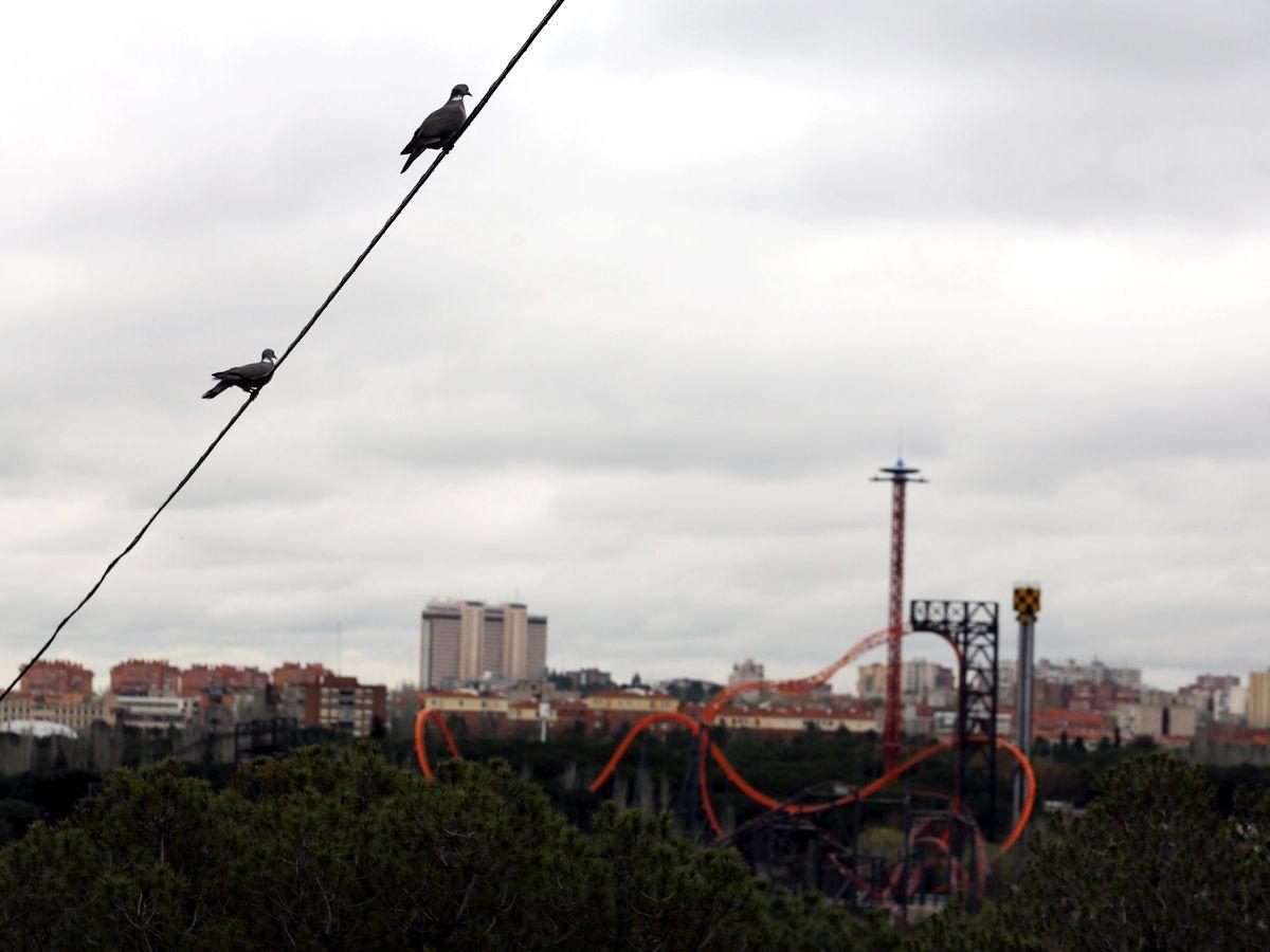Foto: Vista del Parque de Atracciones de Madrid. (Reuters)