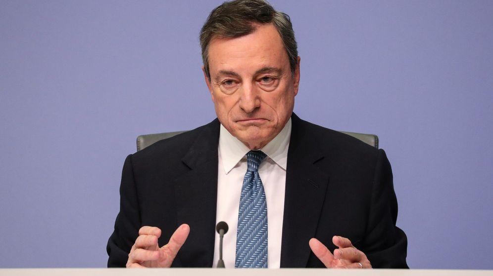 Foto: Mario Draghi, presidente del BCE. (EFE)