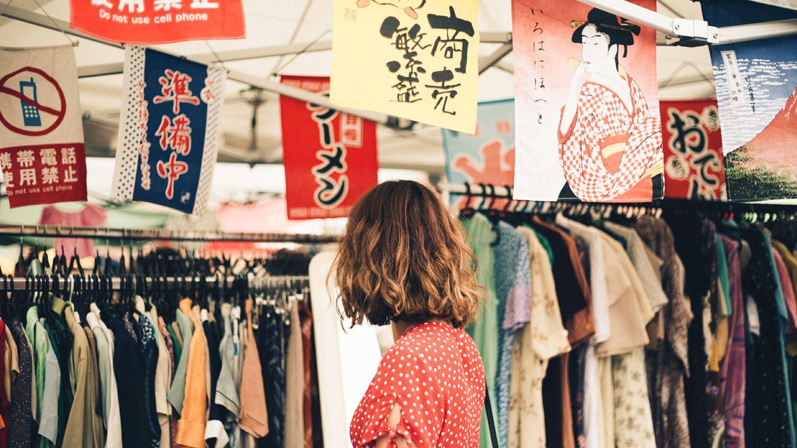 Foto: El Lost Found Market es un mercado de artículos de segunda mano y vintage, con sede en Madrid. (Cortesía)
