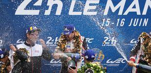 Post de Fernando Alonso gana las 24 Horas de Le Mans y es campeón del mundo de resistencia
