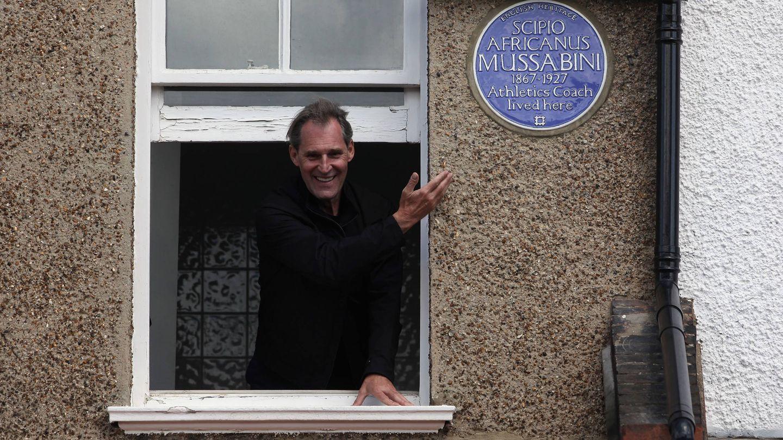 Ben Cross, inagurando una placa en Londres en 2012. (Getty)