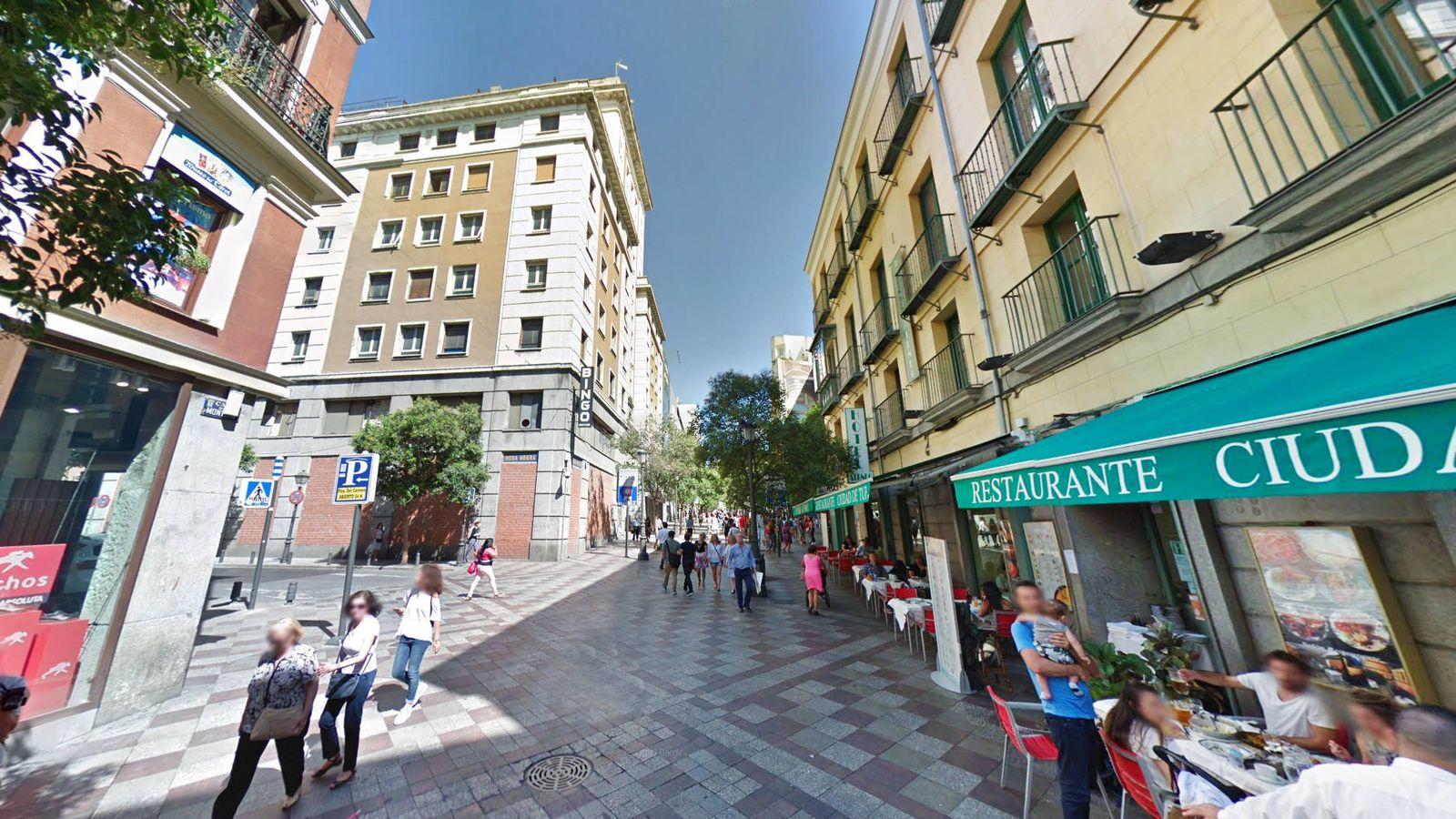 Foto: Calle Montera. (Google)