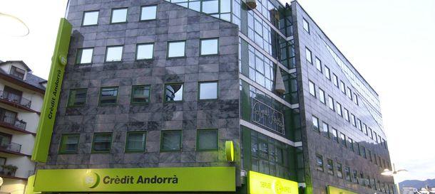 Foto: Sede social de Crèdit Andorrà en el Principado