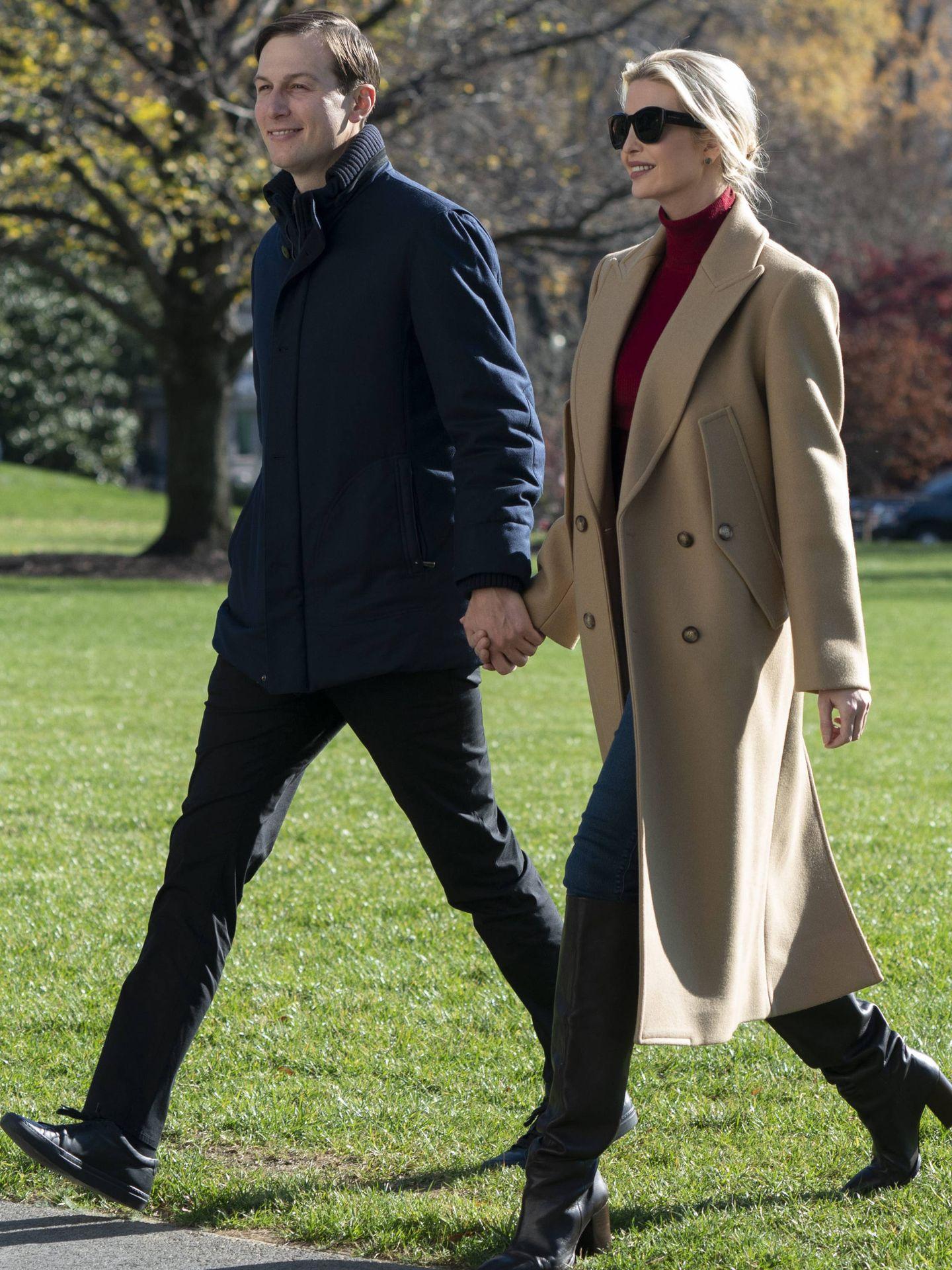 Jared Kushner e Ivanka Trump. (Cordon Press)