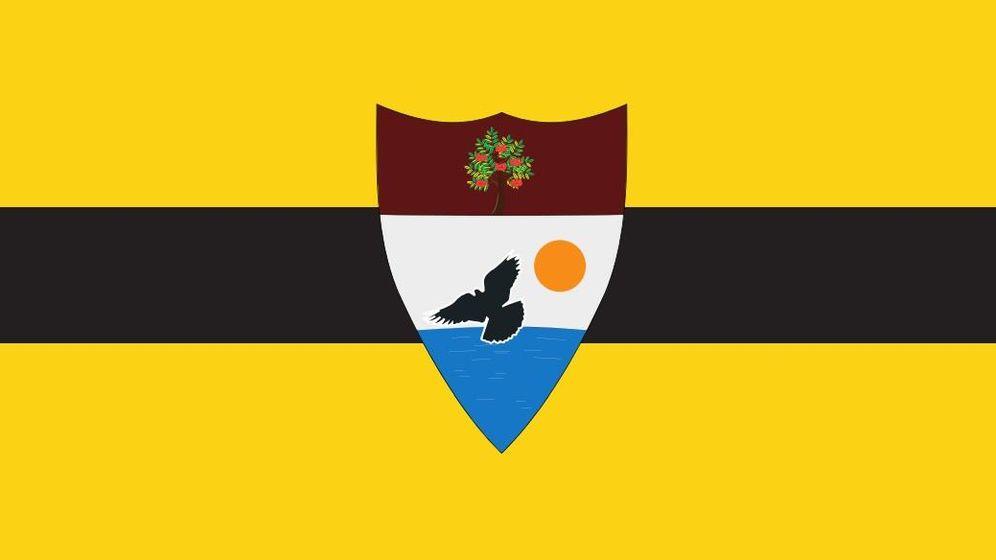 Foto: Bandera de Liberland (liberland.org)