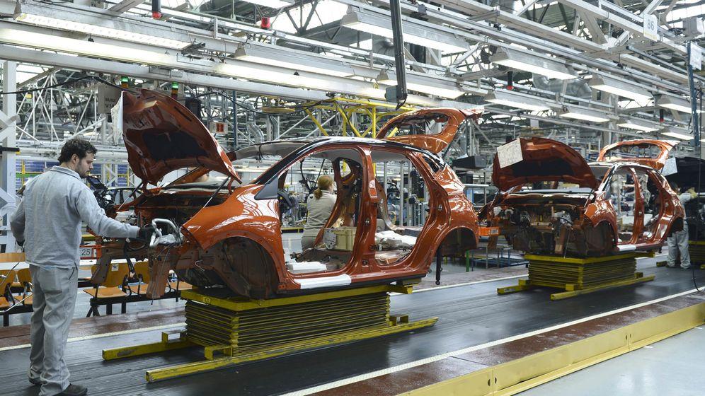 Foto: Fabricación del Renault Captur en Valladolid.