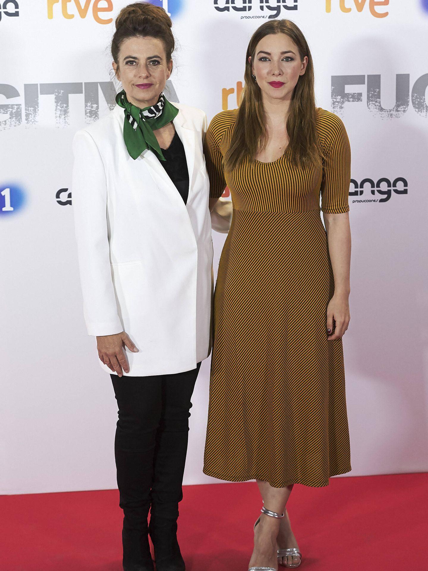 Lola Baldrich, junto a Natalia Rodríguez en una imagen de archivo. (Getty)