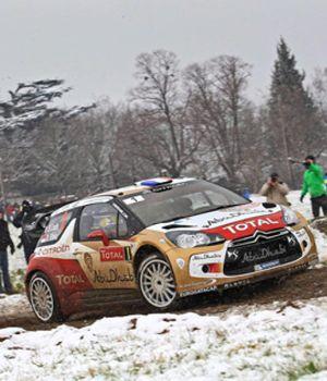Loeb se mantiene al frente y Sordo escala a la tercera plaza en el Rally de Montecarlo