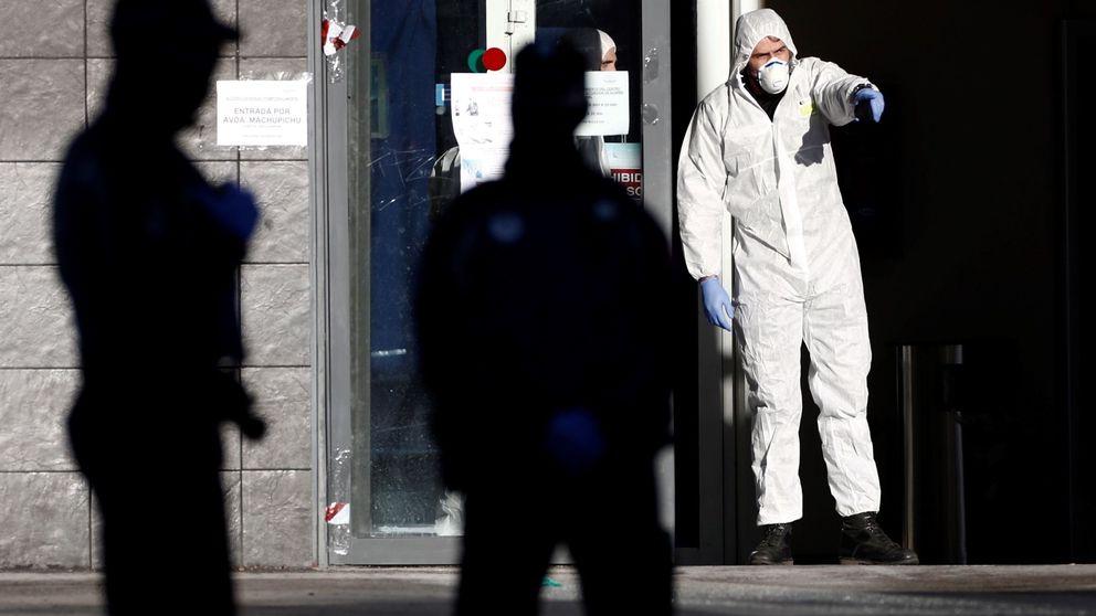 El Palacio de Hielo de Madrid se transforma en una morgue para muertos por coronavirus