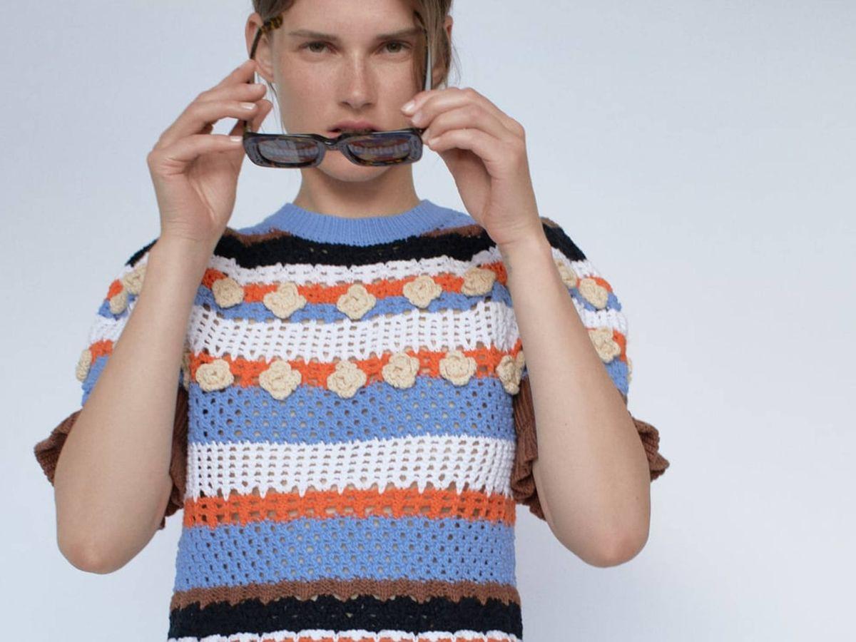 Foto: El nuevo jersey de Zara. (Cortesía)