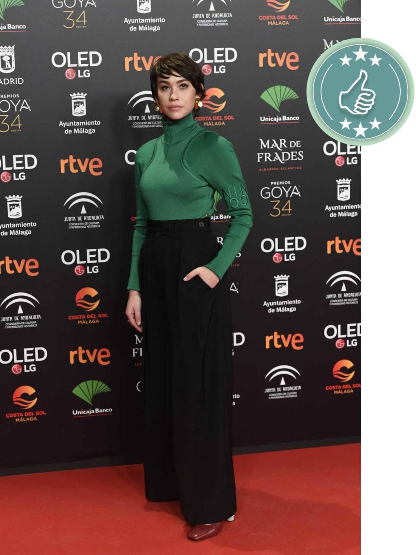 Greta Fernández. (Limited Pictures)