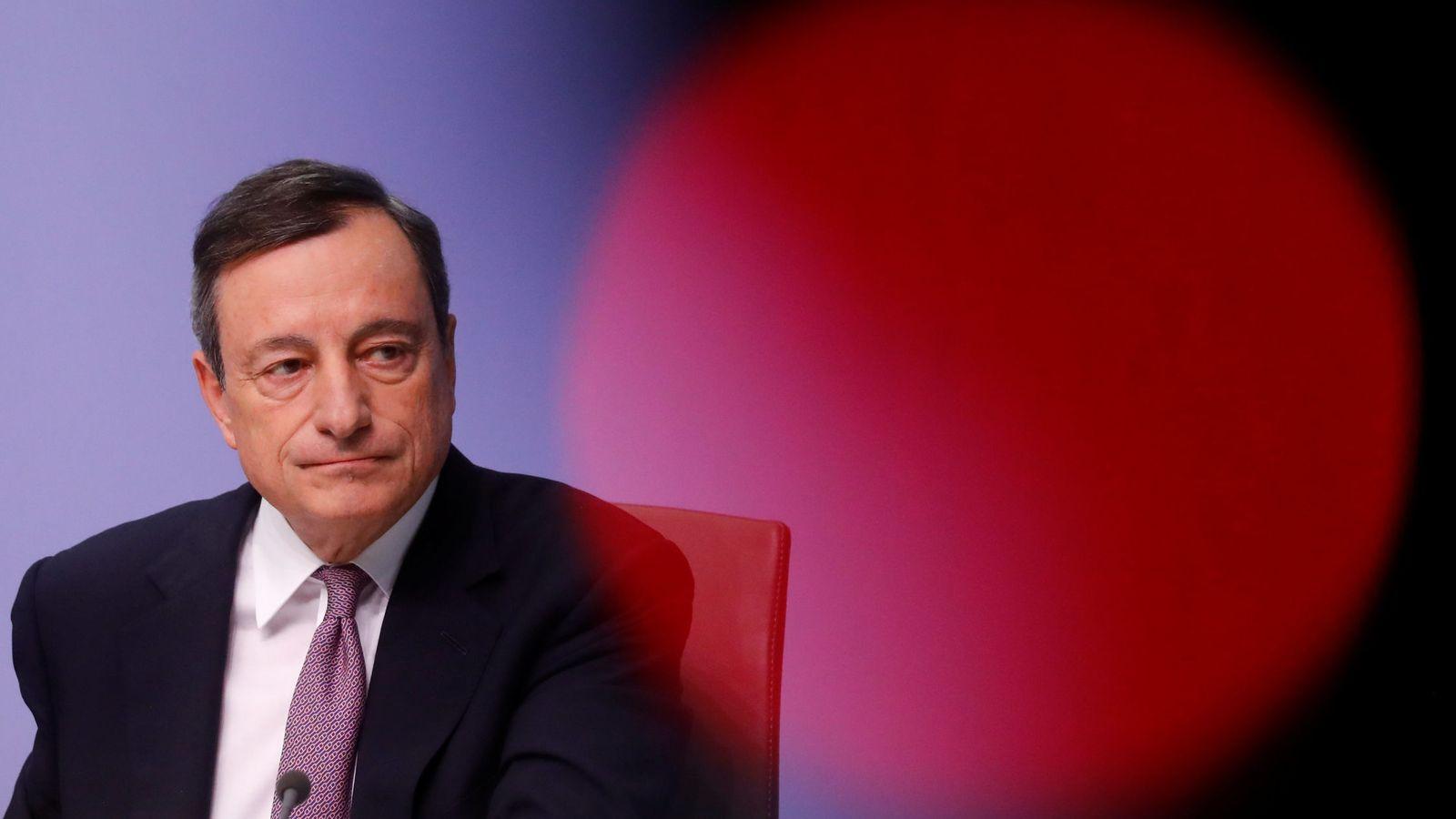 Foto: El presidente del Banco Central Europeo, Mario Draghi (Reuters)