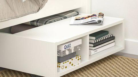 Ahorra espacio en tu dormitorio con esta práctica solución de las novedades de Ikea