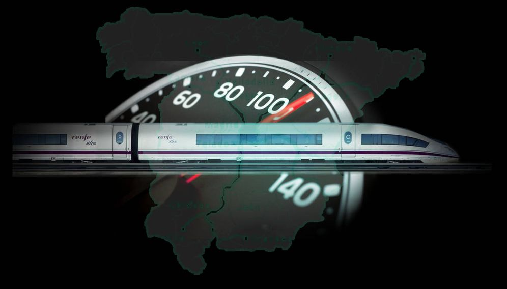 Un AVE a cuatro marchas: por qué a León o a Granada viaja más lento que a BCN