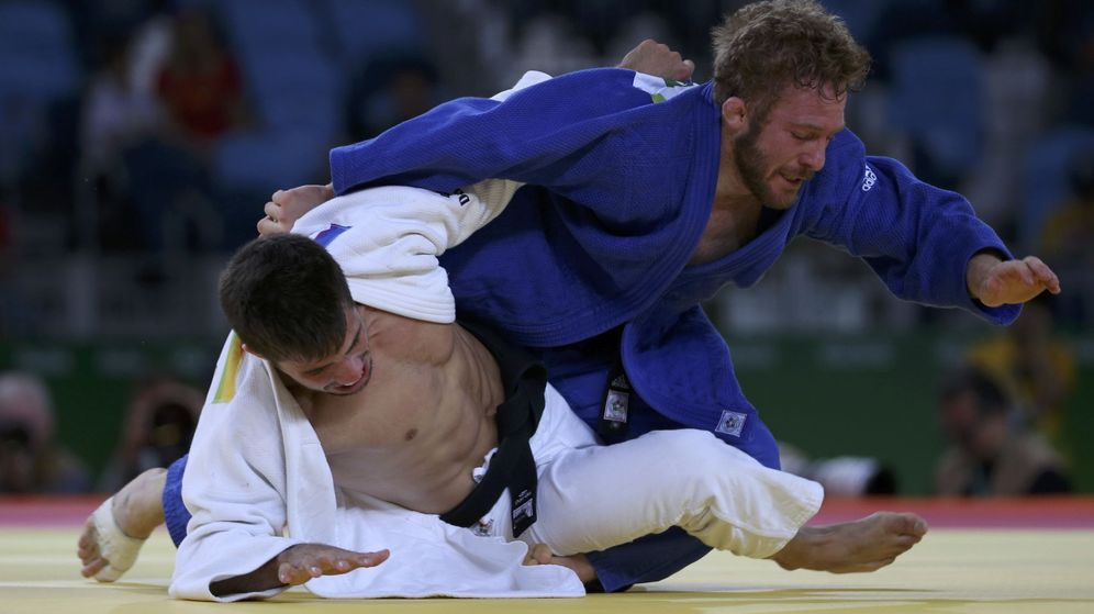 Foto: Francisco Garrigos en su primer combate en Río (Toru Hanai/REUTERS)