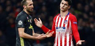 Post de El gesto de Morata para pedir perdón por su pasado en el Real Madrid