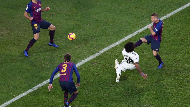 La acción del gol de Marcelo. (Reuters)