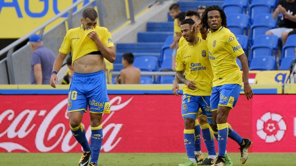 El vestuario de Las Palmas estalla: Rémy y Tannane se pelean en el entrenamiento