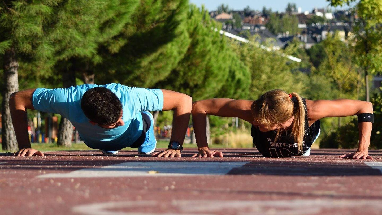 No necesitas nada más que tu propio cuerpo para entrenar.