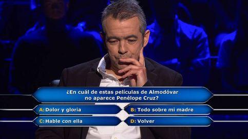 La sencilla pregunta sobre Almodóvar que eliminó a Juanpe Gómez de 'Millonario'