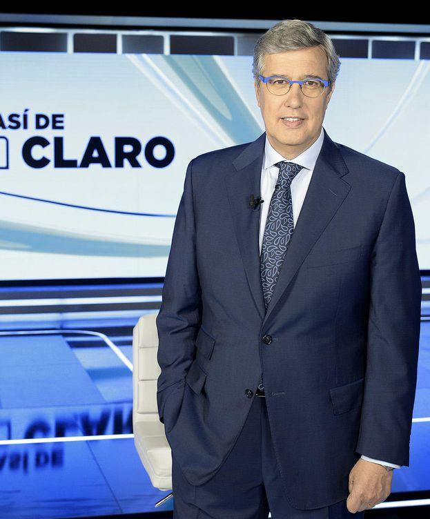 Foto: El periodista Ernesto Sáenz de Buruaga. (TVE)