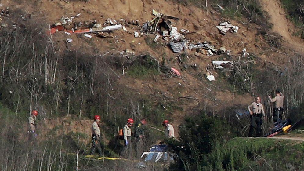 Foto: Lugar del accidente en el que murió Kobe Bryant, en Calabasas, California. (Reuters)