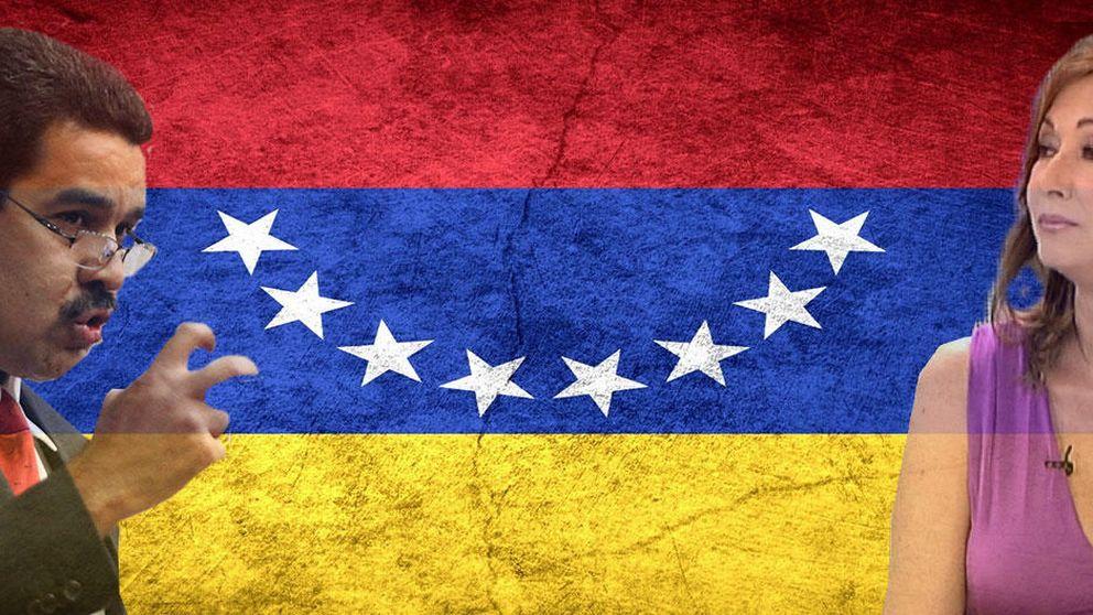 Maduro le declara la guerra a Ana Rosa