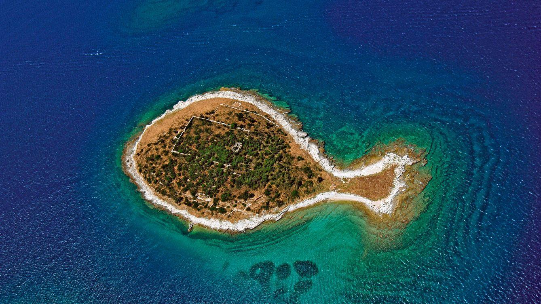 Foto: La isla de Gaz. Foto: Turismo de Croacia
