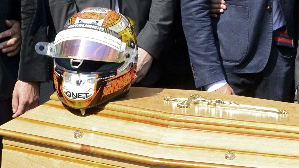 Los pilotos de Fórmula 1 dijeron adiós a Bianchi en su funeral