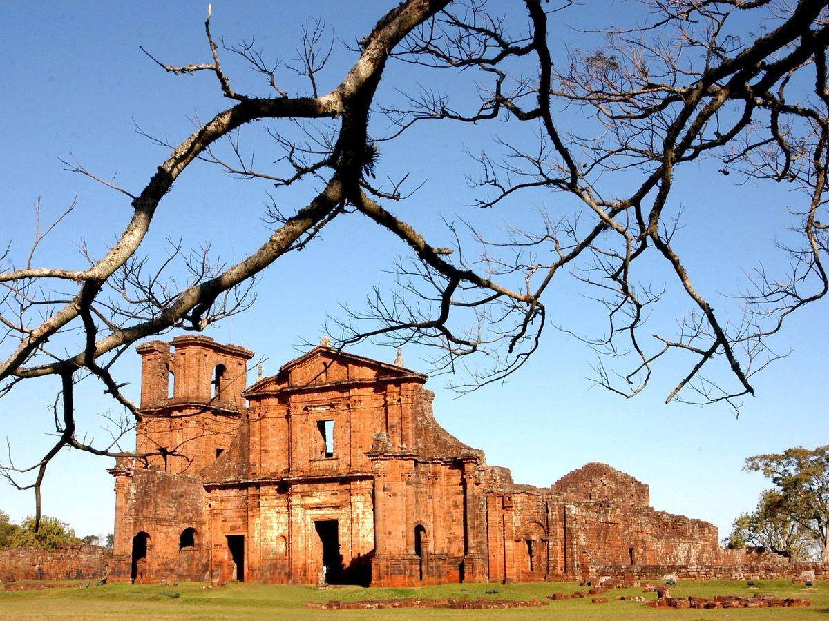 Foto: San Miguel Arcanjo (Brasil), uno de los pueblos que albergaron las misiones de los jesuitas en el Cono Sur (EFE)