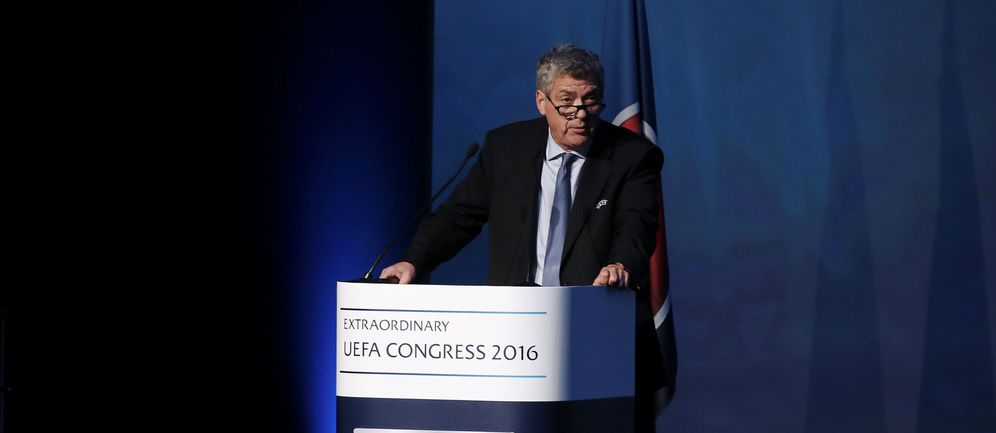Foto: Ángel María Villar, en una imagen de archivo (Reuters)