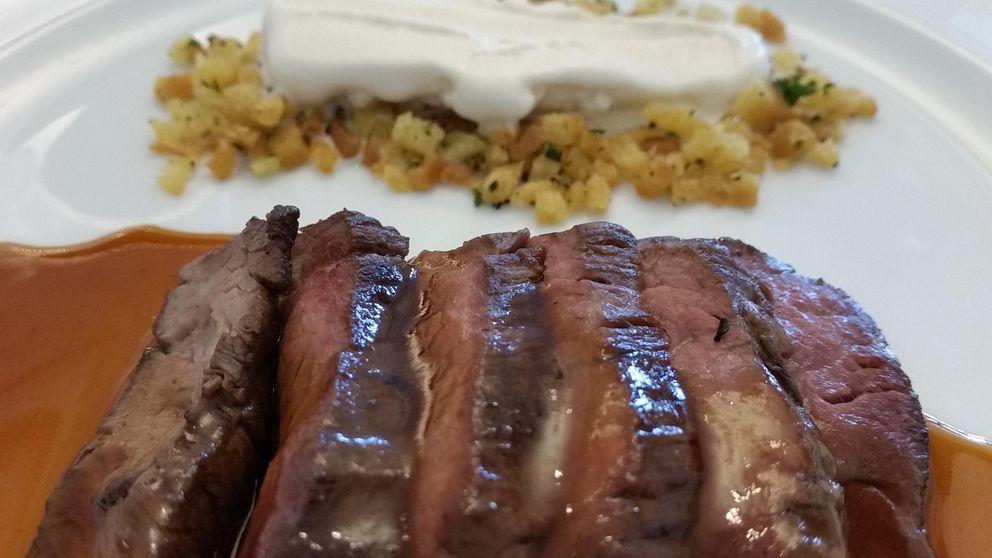 El menú de Fernando Sáenz Duarte: 9 platos y 9 helados en el Hotel Palace