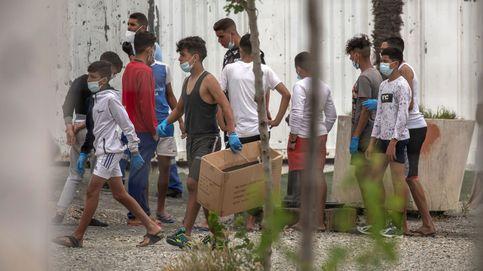 La mayoría de los menores de Ceuta no podrá ser devuelto con el plan Sánchez-Vivas